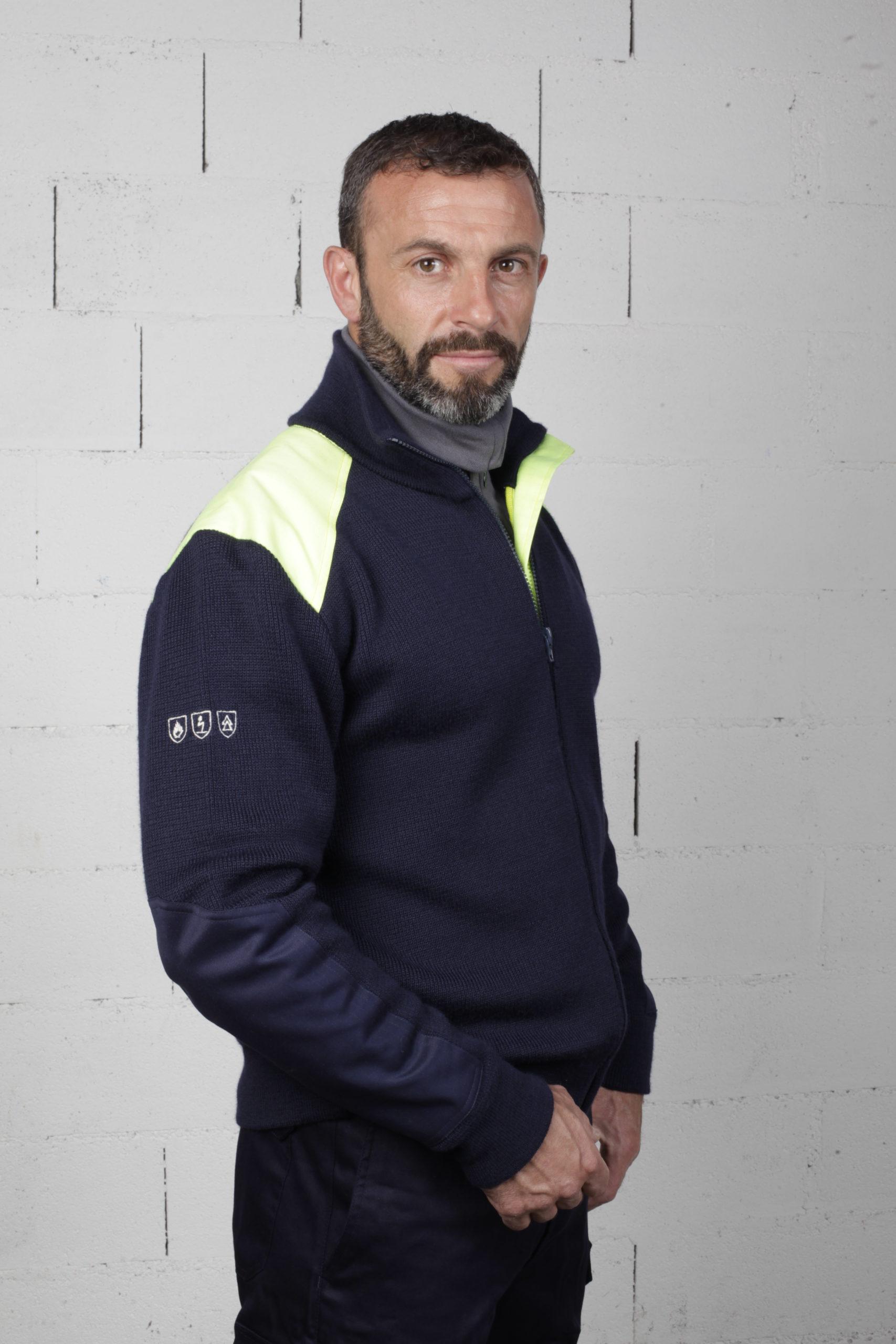 pictogramme EPI pour pulls et vêtements de sécurité et protection individuelle