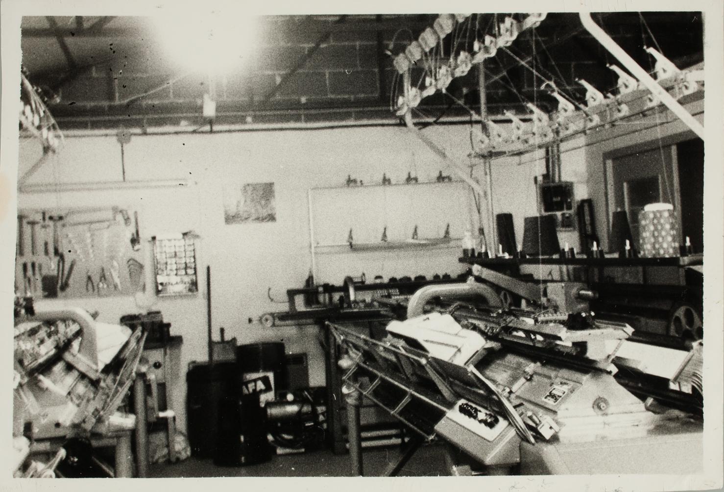 Première usine de fabrication de pulls par la manufacture Regain à Castres.